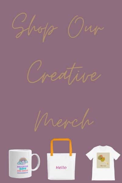 Shop Our Creative Merch with Product Images